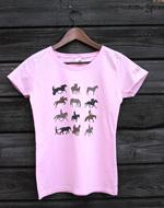Lady fit-paita, vaaleanpunainen