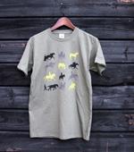 T-paita, oliivinvihreä